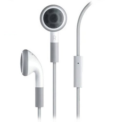 25 Pack Fenzer White Headphones w/ Mic for Apple i...