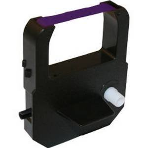 (Replacement Cartridge Ribbon for Compumatic MP550, Purple Ink)