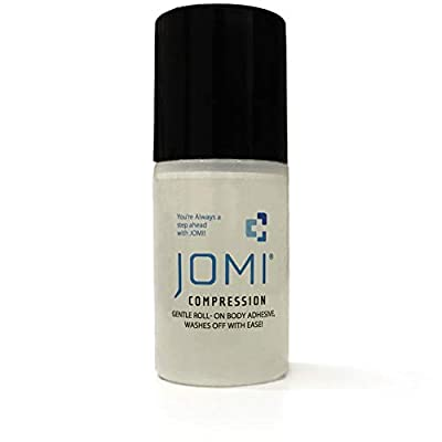 JOMI COMPRESSION Roll On Body Adhesive, Sweat Resistant, Washes Off With Ease 2 Ounces