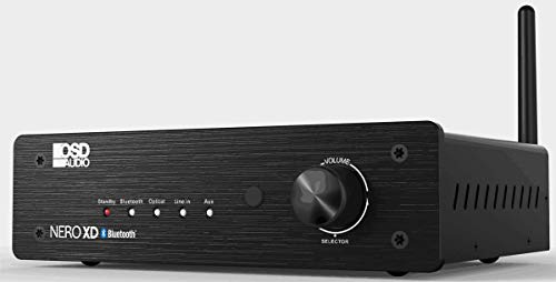 OSD Audio 200W Class D Stereo Power Amplifier - 2 Channel Wireless Bluetooth with Remote, NERO-XD (Old School Receiver Stereo)
