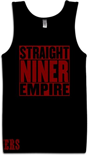 Millionaire Mentality Straight Niner Empire Black Tank TOP (3X-Large)