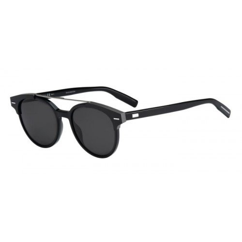 Christian Dior Black Tie 220/S Sunglasses Black / Gray (Mens Dior Christian Tie)