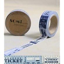 Washi Tape Cinema Ticket Admission 10m x 1.5 cm
