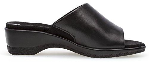 Gabor sulla Aperte Nero Caviglia Donna ZZvnr0pO