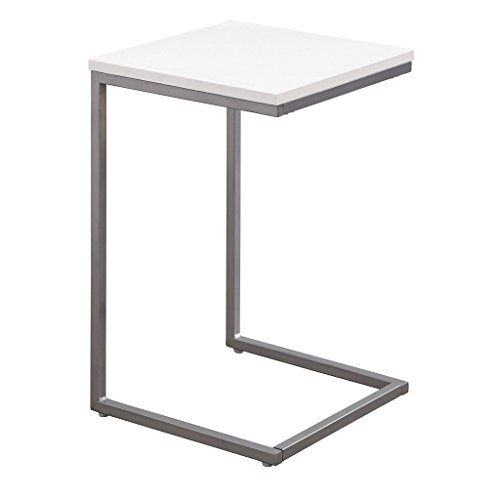 Amazon Com Simple Living Seneca C Table Grey Kitchen