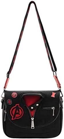 Loungefly Marvel Black Widow Jacket Crossbody