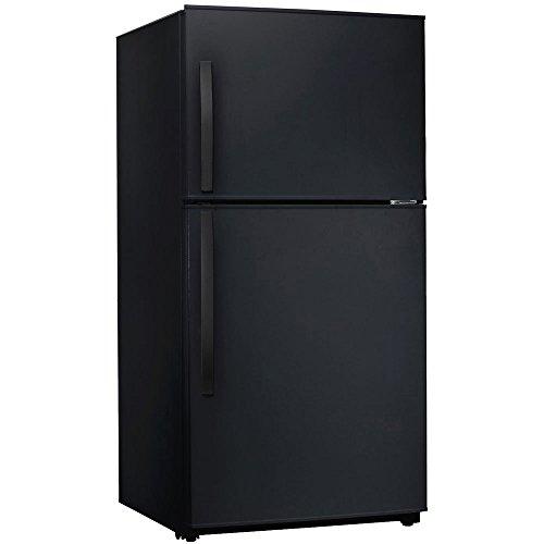 MIDEA 21 cu. ft. Top Mount Refrigerator -Black ()