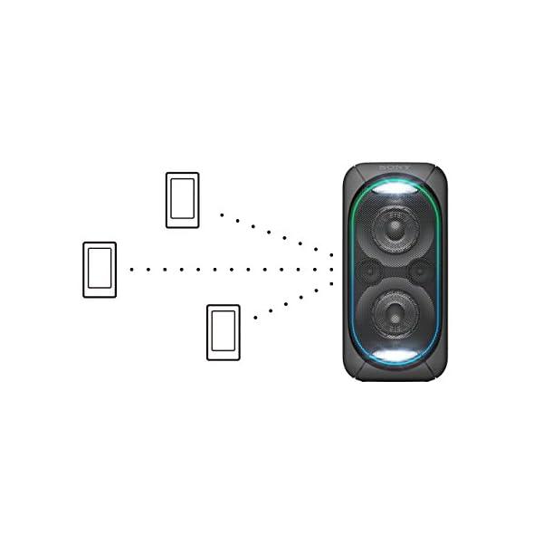 Sony GTK-XB60B Enceinte Bluetooth/NFC Extra Bass High Power - Noir 6