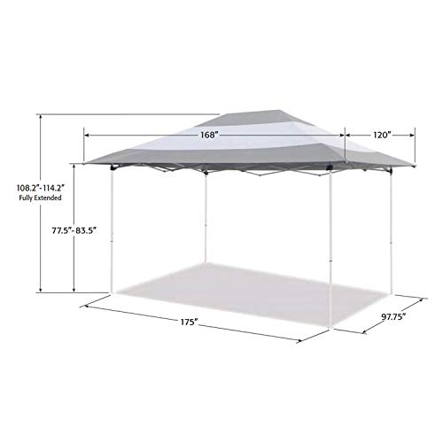 Z-Shade 14 x 10-Foot Prestige In...
