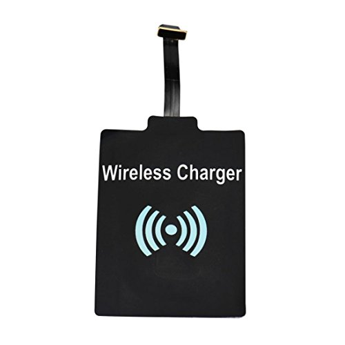 Price comparison product image Wireless Charger, Muxika Universal QI Wireless Receiver Charger Module for Cell Phone (Black)