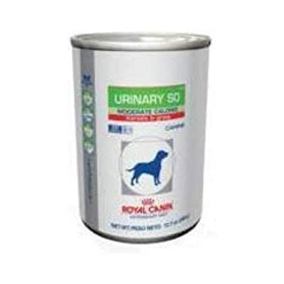 Royal Canin Veterinary Diet Urinary SO Moderate Calorie Morsels in Gravy Canned Dog Food 12/13 oz