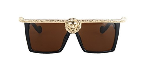 Classic Sunglasses Wild Lion Shape Queen Style Oversized - Shop Kourtney Style Kardashian