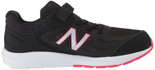 New Balance Girls' 519v1 Hook and Loop Running Shoe Black/Rainbow 2 M US Infant by New Balance (Image #7)