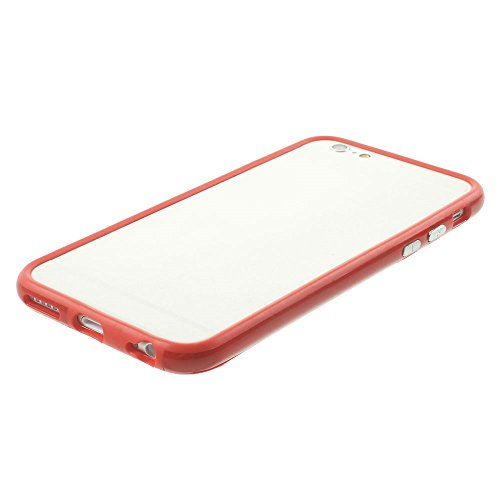"iProtect Protection Frame Apple iPhone 6 (4,7"") Bumper Schutzhülle rot"