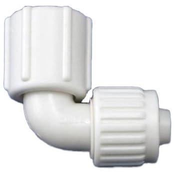 Flair-It 16816 Plastic Swivel Elbow, 0.5
