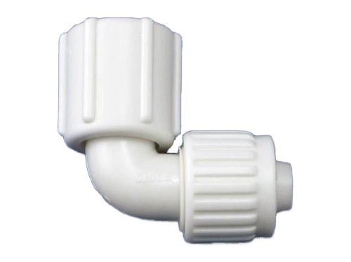 (Flair-It 16816 Plastic Swivel Elbow, 0.5