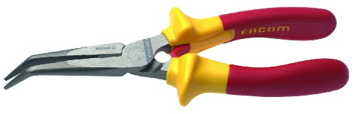 Stanley Proto Facom FA-195.20VE Bent Nose Insulated Pliers 1000VE, 7-7/8-Inch