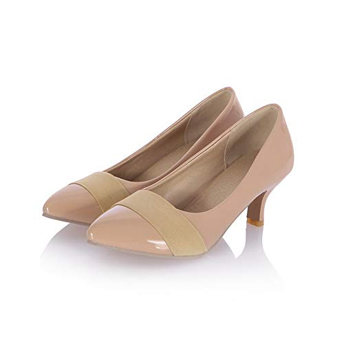 Shoes Womens Pumps Fashion Urethane Assorted Colors Travel Beige BalaMasa APL10393 0xdwUqZ0