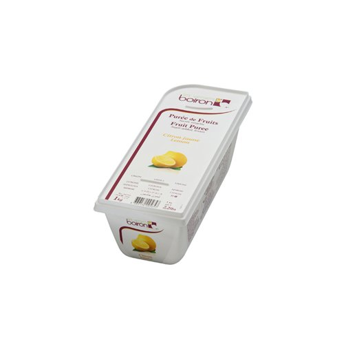 Lemon Fruit Puree Frozen - 2 x 1 Kilo Per Case