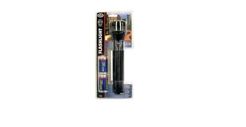 (Bright-Way Flashlight with 2-D Battery,)