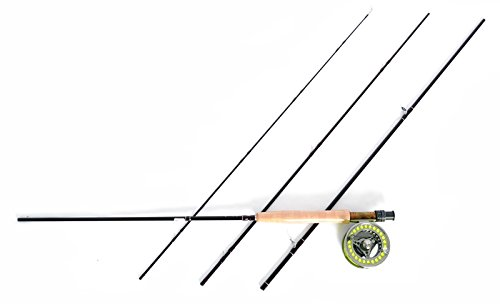 Stradalli Release Series 4 Wt, 9 Long, 4 Piece Fast Action Fly Fishing Rod 100% Carbon Fiber Billet Reel Combo