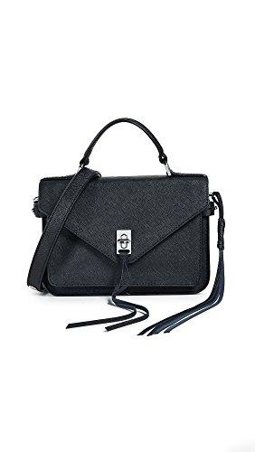 Rebecca Minkoff Women's Small Darren Messenger Bag, Black, One Size
