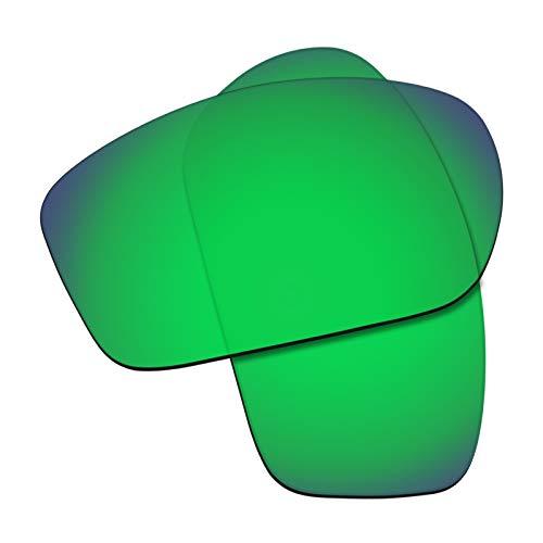 Flugger Replacement Lenses for Oakley Valve Sunglass - Polarized Green