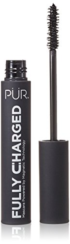 PÜR Fully Charged Mascara, Long Lasting, Anti-Aging Magnetic Polymer, Black, 0.44 Fluid Ounce, 13ml