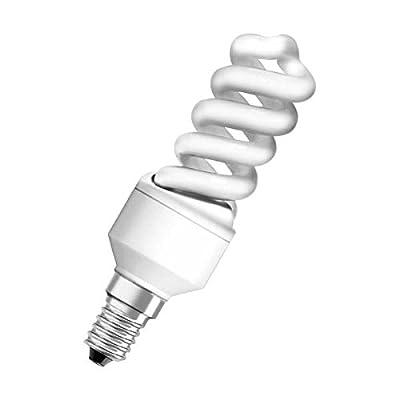 Osram Dulux Superstar Nano Twist Ampoule 9W, E14, blanc chaud A