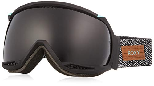 Roxy Women's Hubble Snow Goggles, True Black, One Size (Roxy Goggles)