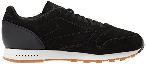 Reebok Mens Cl In Pelle Sg Sneaker Nero / Gesso-gomma