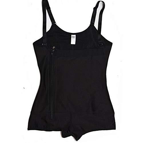 Femme s Shaper Zipper Caoutchouc Hxzb Latex Full Body Shapewear qwZ60U