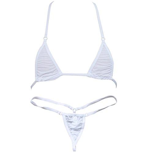 TIAOBU Sliding G String Bikini Swimsuit