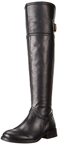 Vince Camuto Women's Fantasia Black Knee-High Leather Boot -