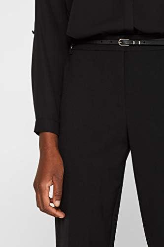 ESPRIT Collection 999eo1b801 Pantalon, Noir (Black 001), 40 (Taille fabricant: 38) Femme