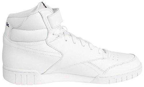 Hi O de Sport Chaussures Sneakers Ex nbsp; Fit Reebok Blanc Unisexes w50t4qBn