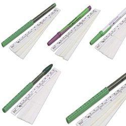 (Kendall DEVON Surgical Skin Markers, 160-R Regular Tip, Flexible Ruler, EACH)