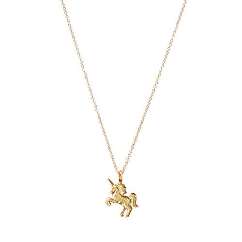 Dogeared Gold Dipped Life is Magical Unicorn Necklace - MRGG100513300