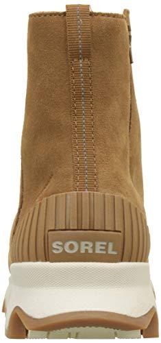 Natural KINETIC Femme Marron Sorel Camel Brown Blanc Bottines SHORT fx8fdEq