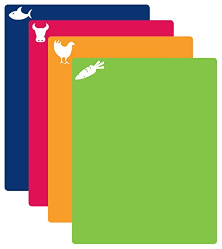 CounterArt Flexible Cutting Mat, Set of 4