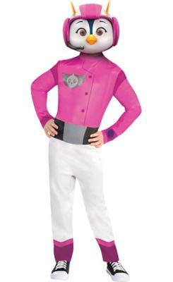 Amscan Top Wing Penny Halloween Costume for Girls, Small, with Included -