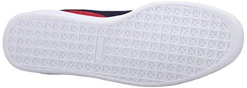 PUMA Adult Wildleder Klassischer Schuh Barbados Kirsche / Peacoat