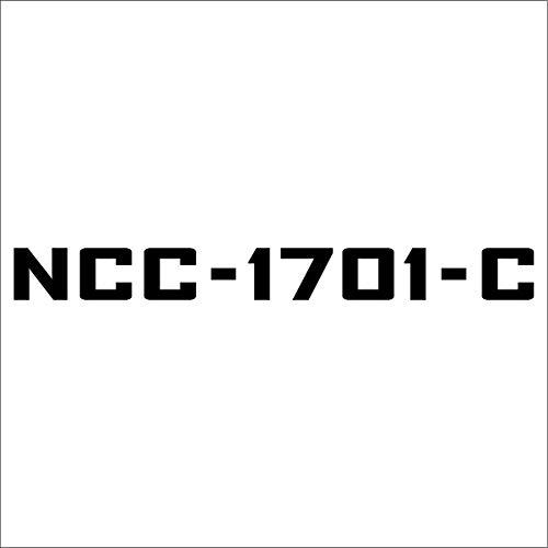 (Cove Signs NCC-1701-C Decal/Sticker - Black 4