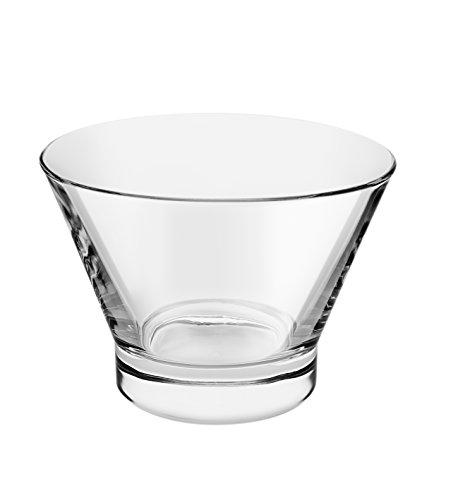 Oval Taça Sobremesa Crisal Transparente
