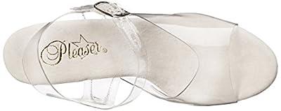 Pleaser Women's SKY308/C/SCH Platform Dress Sandal