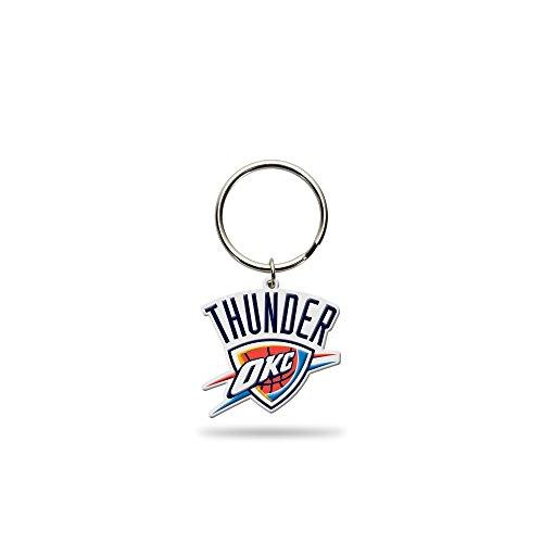 Rico Industries NBA Oklahoma City Thunder Flexible Team Logo Keychain