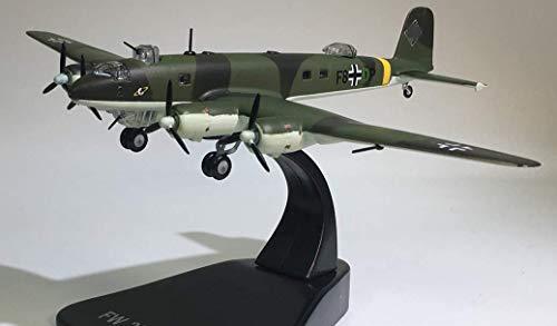 FloZ WWII German Fw 200 Condor monoplane Aircraft 1/144 diecast Plane Model