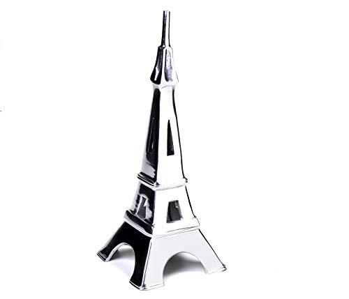 Escultura Torre Eiffel Liat Etna Prata 36cm