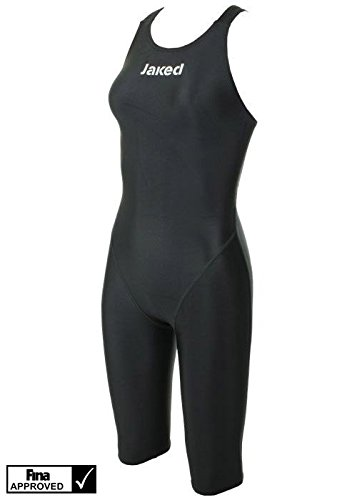 Jaked Women's COMPETITION J11 WATER ZERO TECHNICAL SWIMSUIT (22, Black)