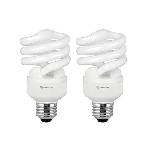 Compact Fluorescent Light Bulb T2 Spiral CFL, 2700k